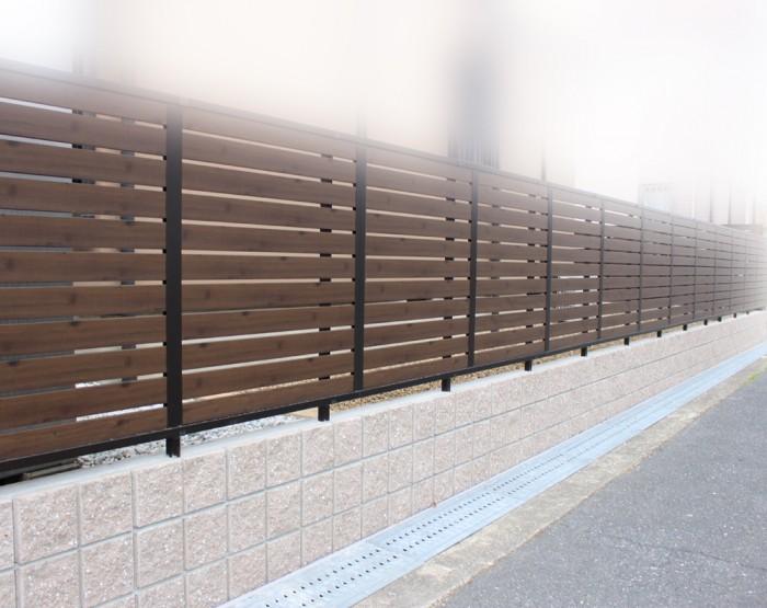 交野市ブロック塀改修工事
